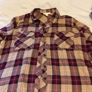 Plaid shirt BLU PEPPER